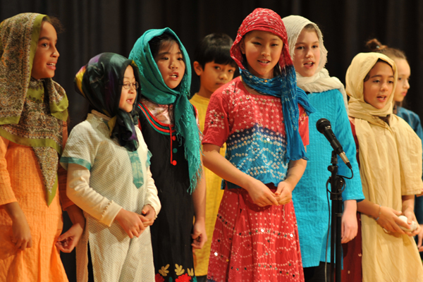 academics elementary performing art Malala play