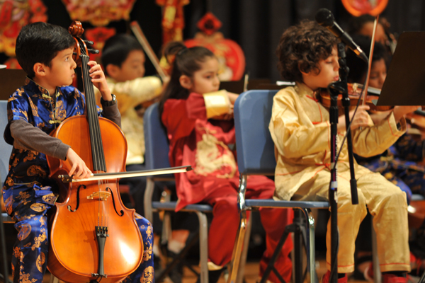 academics elementary performing art string